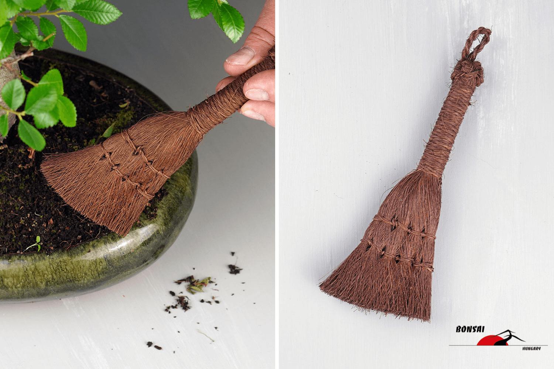 Bonsai seprű - kókuszseprű